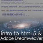 Intro to HTML5 & Dreamweaver