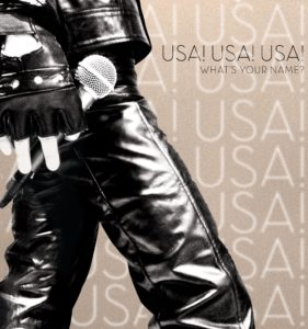 A look at the album cover for USA!USA!USA!. Image taken from: facebook.com/usabandofficial.