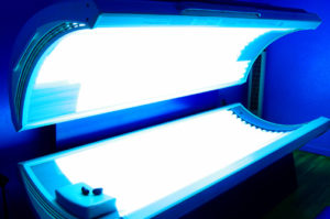A look at our newest menace--the tanning booth. Image taken from: uofmhealthblogs.org.