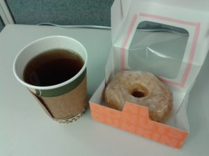 1. Cronuts or Croissant Donuts don't have to be enjoyed alone! They also go well with coffee and tea.