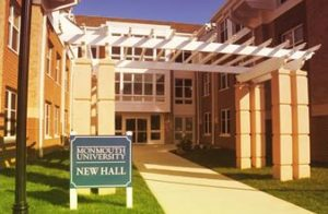 The event took place in the aptly-named New Hall. Photo courtesy of www.monmouth.edu