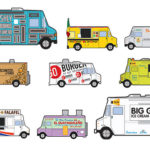 Food Truck Illustration via NY Mag