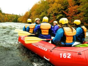 Outdoors Club Goes Whitewater Rafting