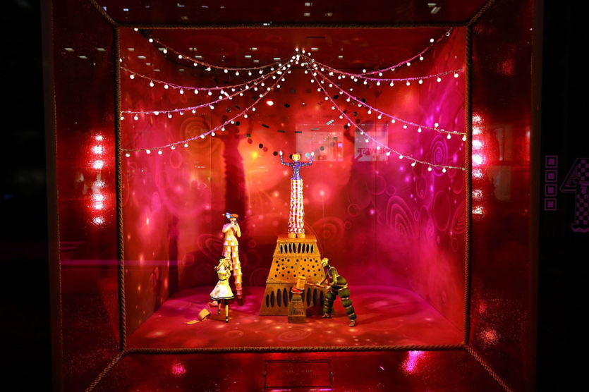 Empire State of Mind: Holiday Windows 2012