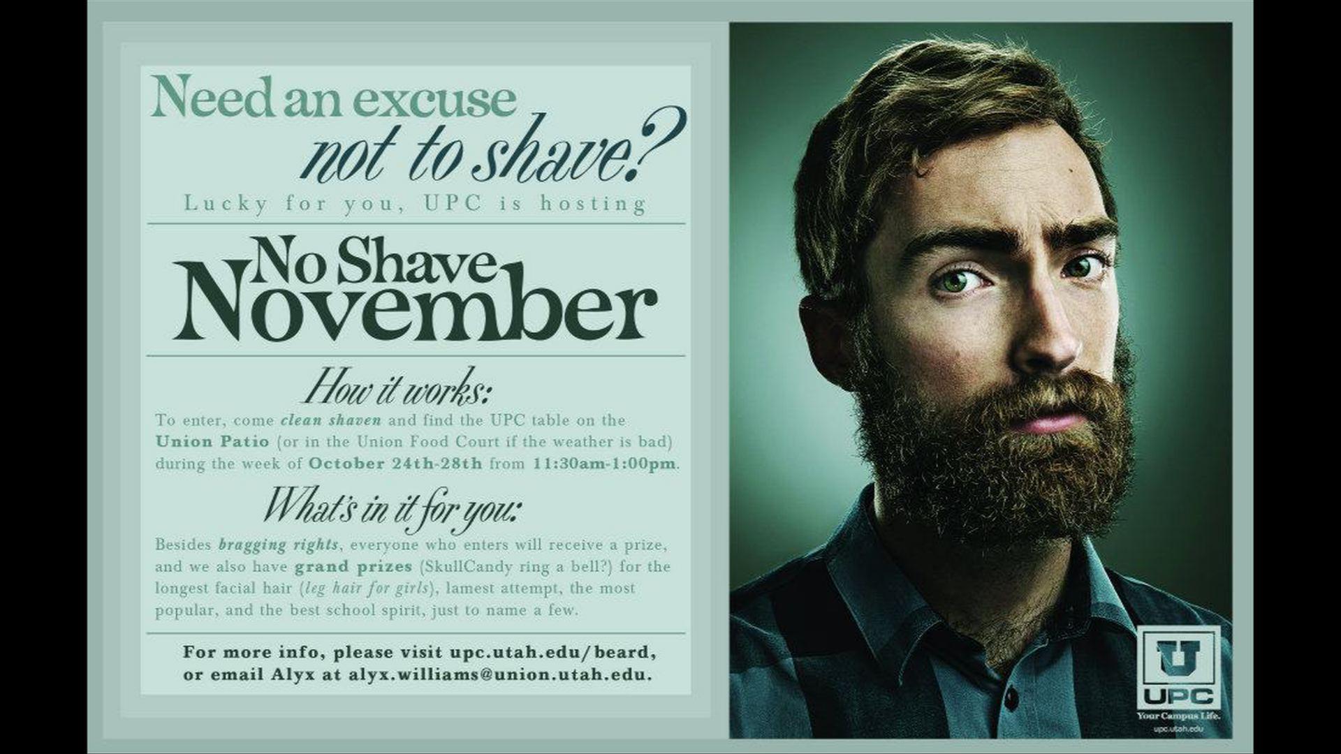 A Recap of No Shave November