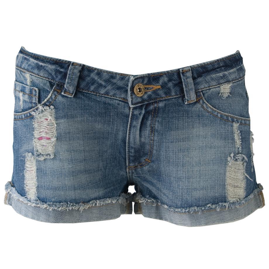 Fashion Trend Alert: Denim Cutoff Shorts