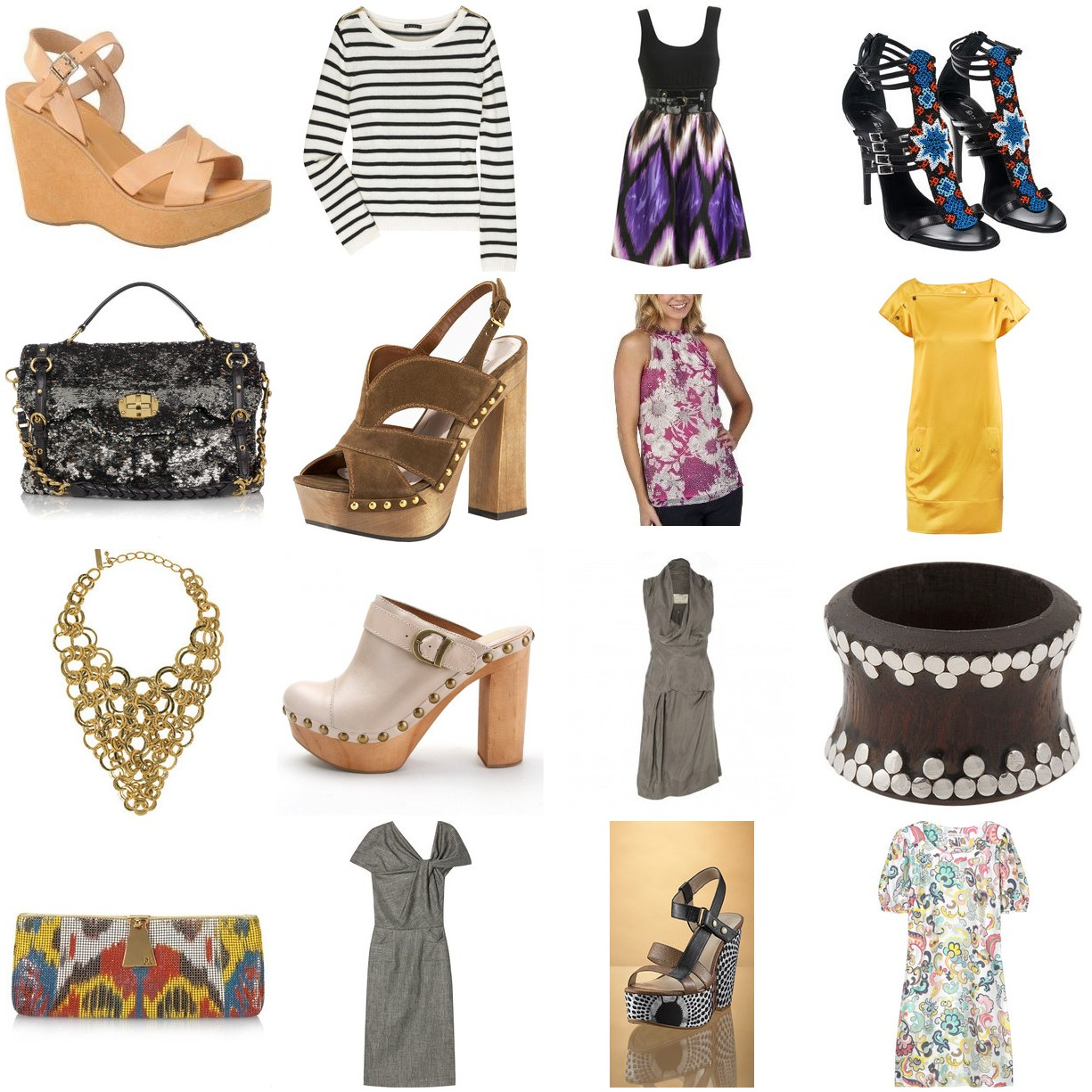 Top Ten Fashion Trends for Spring 2013