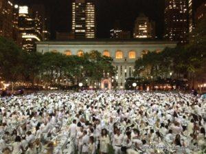Diner en Blanc Takes New York