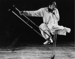 Hip Hop Dancer Bill Shannon Performs in Anancon