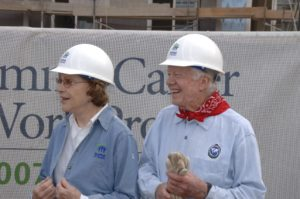 The Carters & Habitat for Humanity to Re-Build Homes In Union Beach