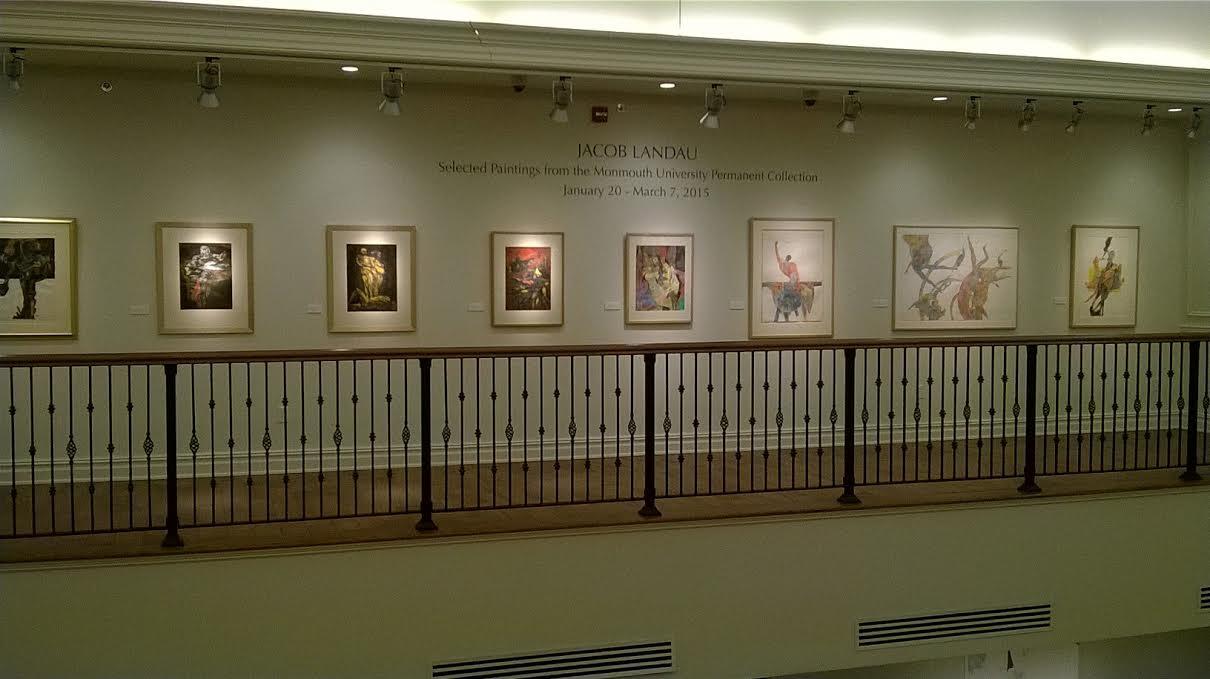 Jacob Landau, Hon Eui Chen Art Gallery Exhibition