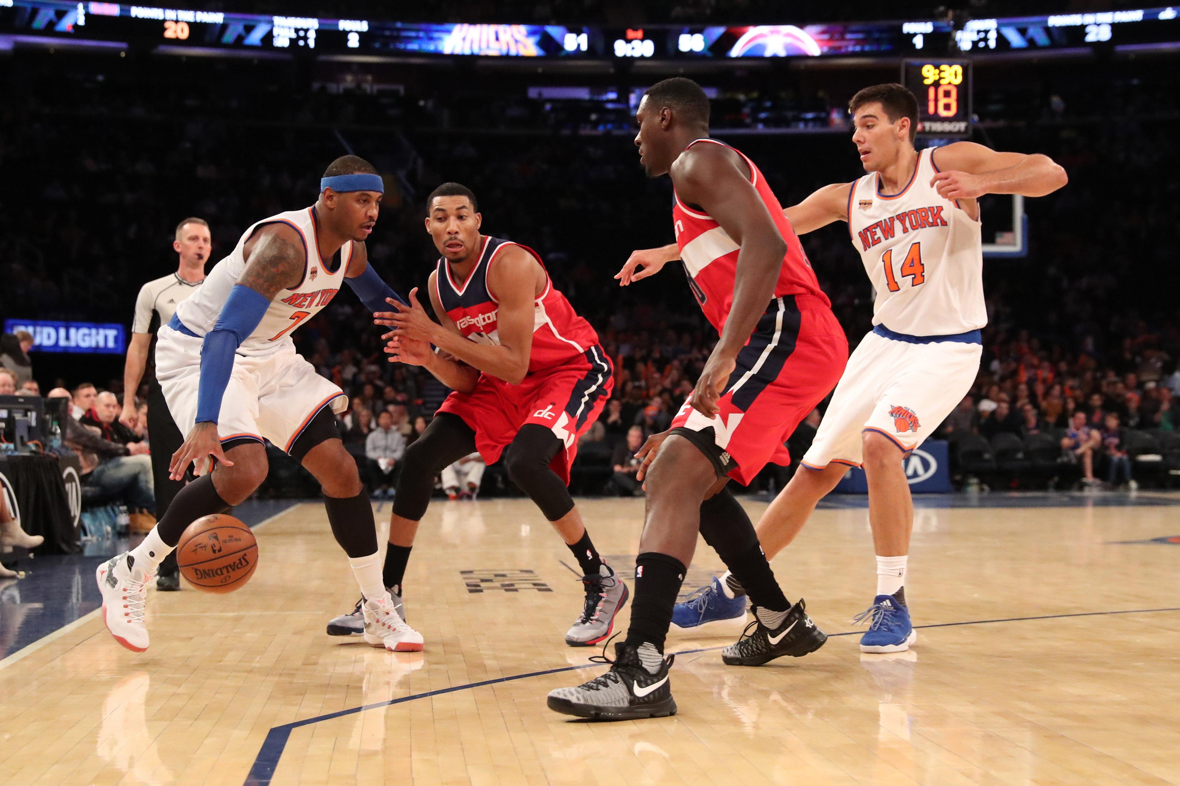 New Year, Same Knicks
